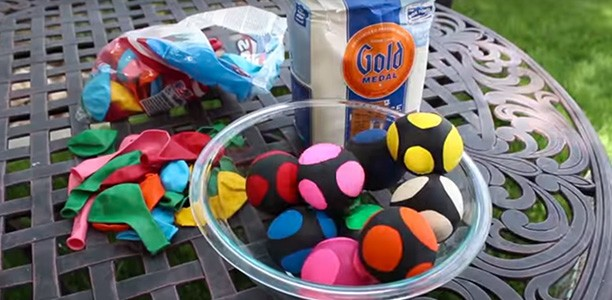 How to make beanbag balls for active family fun