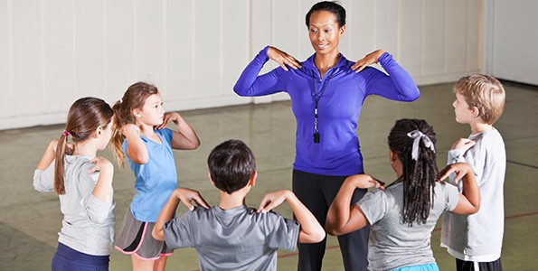 Questions to ask your child's phys ed teacher