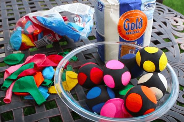 How to make beanbag balls for active family fun