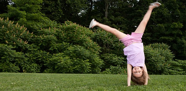 Why I would fight for cartwheels at recess