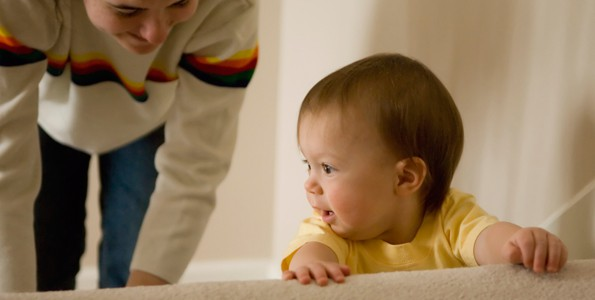 Babies who don't develop proper motor skills may suffer academically down the road
