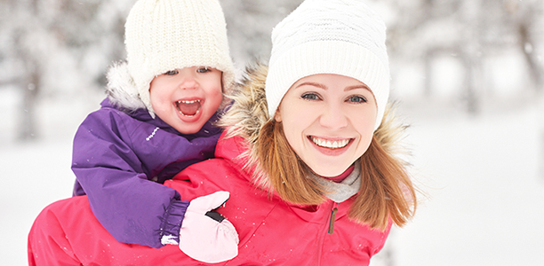 d6c4bd56423f How to dress your baby for spending time outdoors in the winter ...