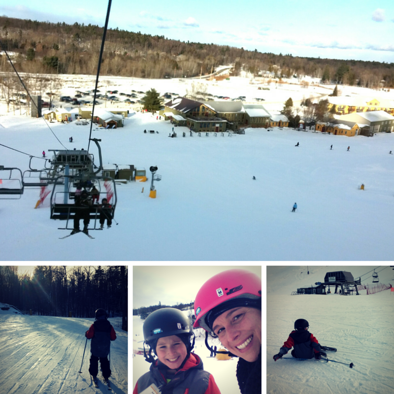 family skiing trips at Calabogie Peaks