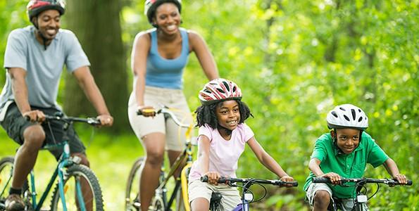 Résolution du printemps, pratiquer les activités en famille!