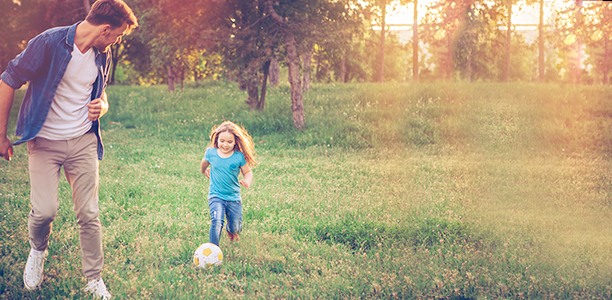 get dads and kids playing together with this printable