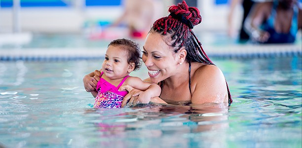 Splish splash: how parent and baby aquafit classes inspire physical literacy