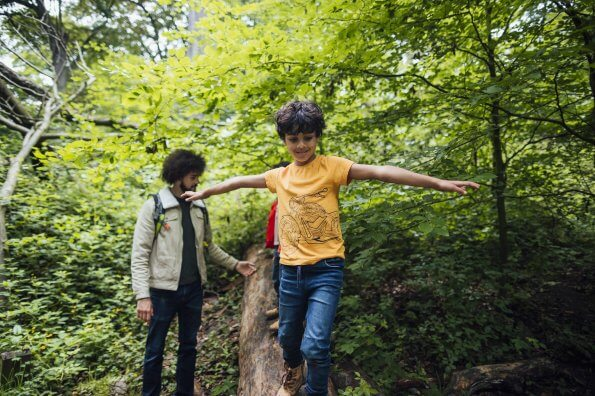 Turn your kids into active nature ninjas with this fun twist on a scavenger hunt