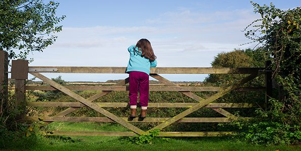 My 5-year-old daughter loves climbing the highest fence and I'm (mostly) okay with that