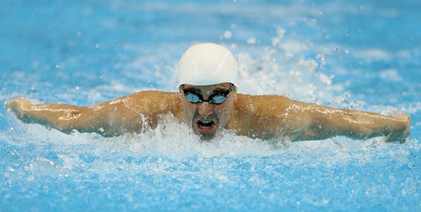 Rio marks the fifth Paralympic Games for Benoit Huot
