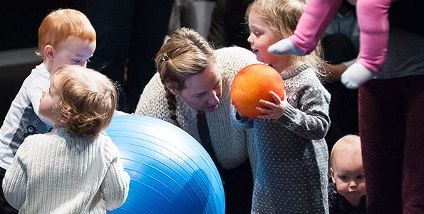 Theatre for babies sets the stage for physical literacy