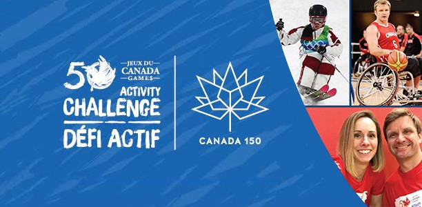 Schools can win a visit from Jenn Heil or Bo Hedges by registering for the Canada Games Activity Challenge