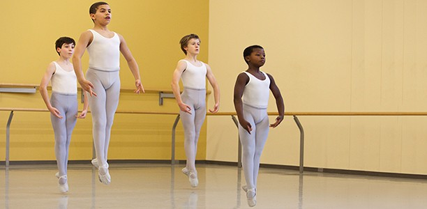 Boys and ballet: dance develops strength, balance, discipline