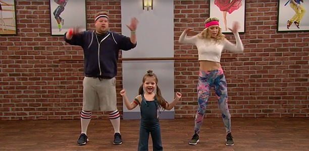 Watch James Corden and Kate Hudson try to keep up