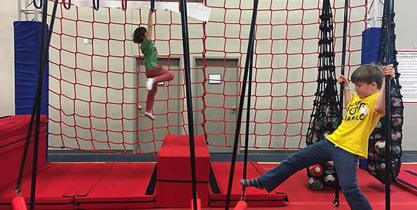 Ninja warrior training centre for kids