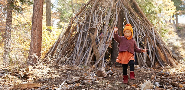 18 ways to get kids to go outside