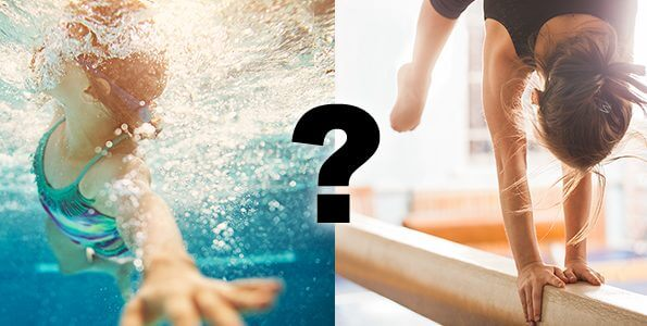 Should my 4-year-old take swimming lessons or gymnastics?