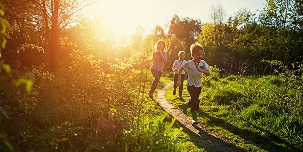Study shows being active reduces symptoms of depression in kids
