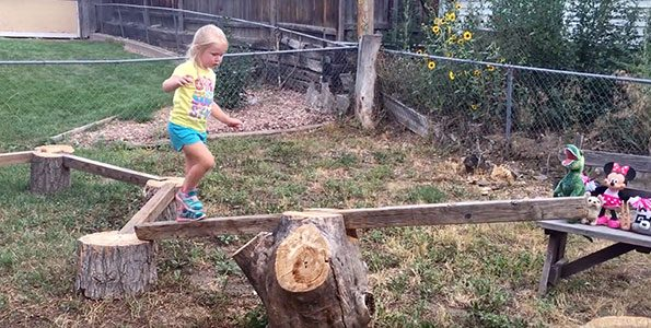 Ninja warrior girl is physical literacy in action