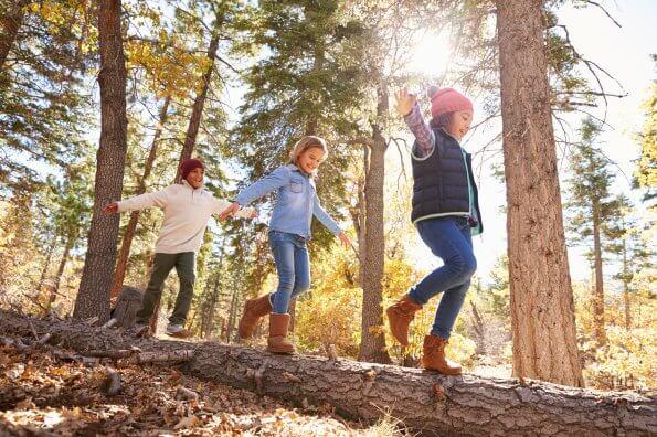 Élever des enfants actifs hors des sentiers battus