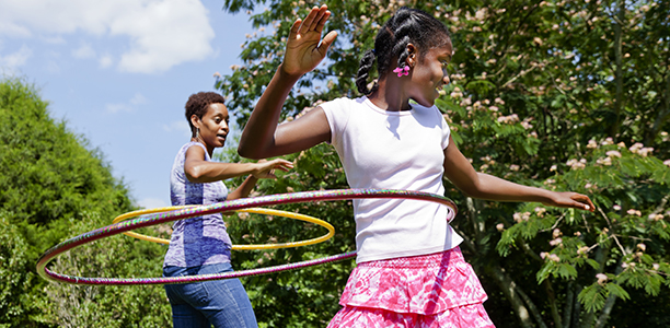 7 things to do with a hula hoop