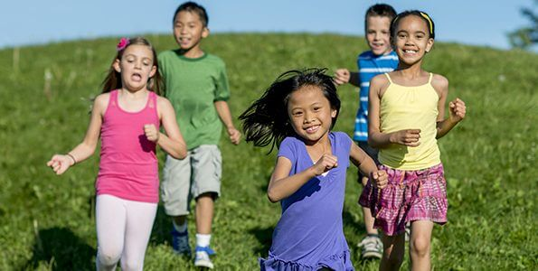 Regular physical activity builds healthy bones for life