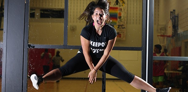 AfL Role Model Gaby Estrada inspires girls to be active