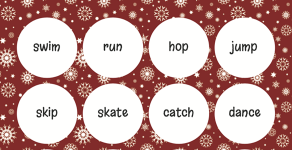 Try our Winter Break Bingo
