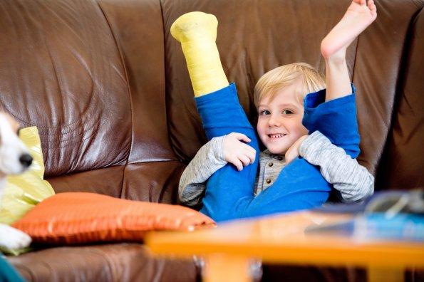 14 jeux pour les enfants plâtrés afin qu'ils puissent rester actifs