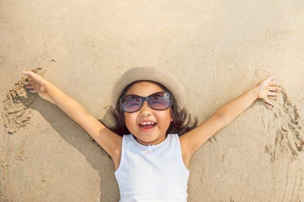 21 activités amusantes et actives  à pratiquer à la plage avec les enfants