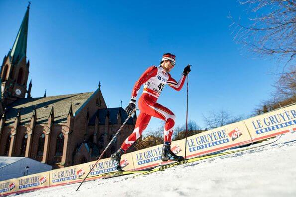 Meet Alex Harvey, cross-country skier