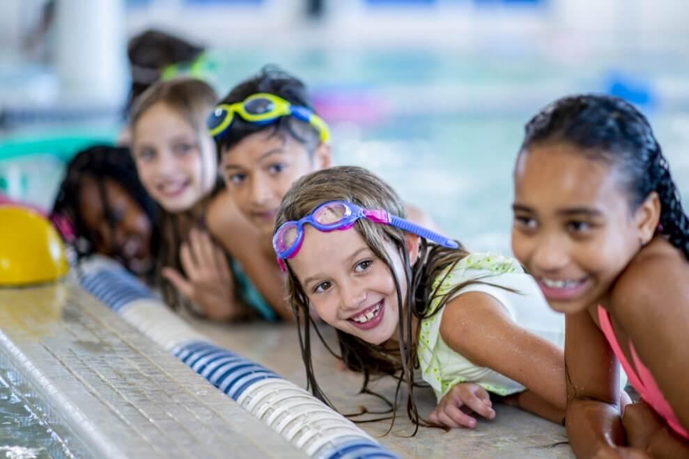 Kids swim team