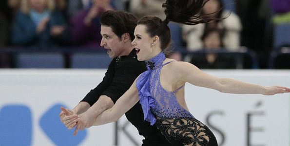 Meet Tessa Virtue and Scott Moir, ice dancers