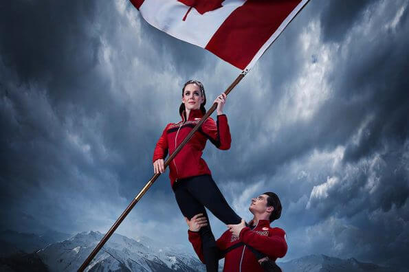 Team Canada will be led by Tessa Virtue and Scott Moir at PyeongChang 2018