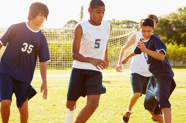 Bio-banding aims to put youth soccer teams on equal footing