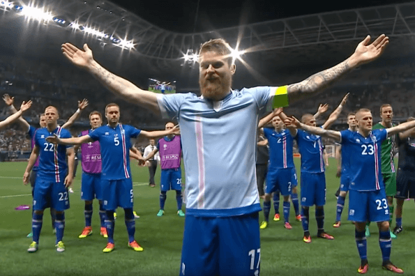 Iceland is Active for Life's favourite World Cup team