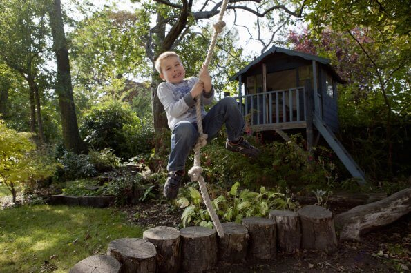 "How to create a ""risky play"" backyard playground"