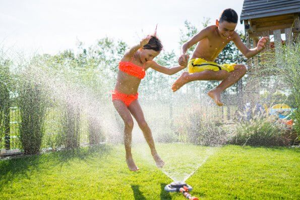 Try these sprinkler games for some cool summer fun