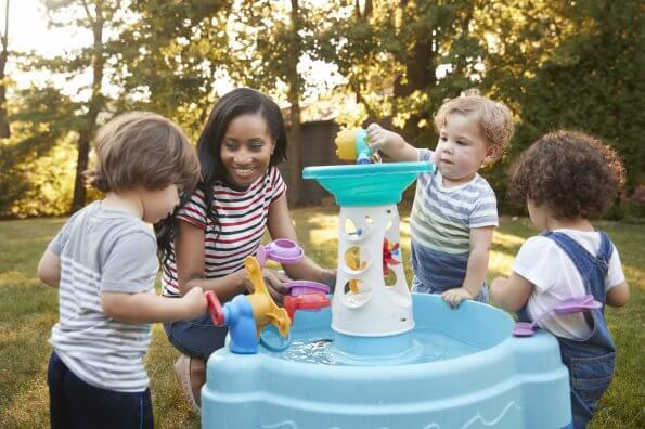 Build your own water table this summer