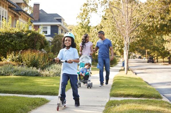How to stay active once kids are back in school