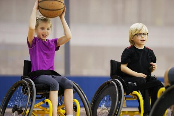 Wheeling: New activities for kids with mobility impairments