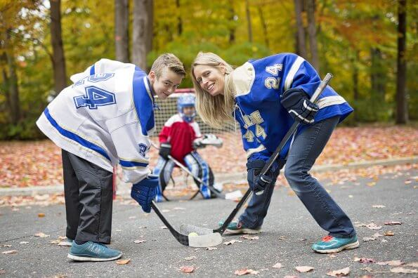 5 lessons from a book by a 'reluctant hockey mom'