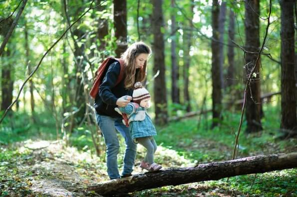 Stay active outdoors with your little ones through a Little Explorers club