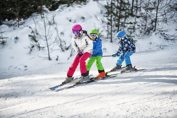 Kids ski camp is a fun way to improve skills at Hidden Valley Highlands
