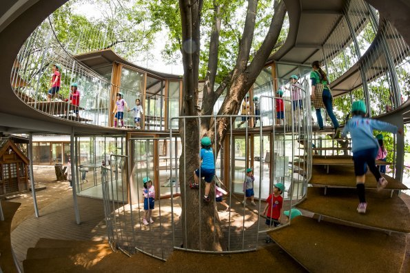 Active play by design: The coolest kindergarten ever