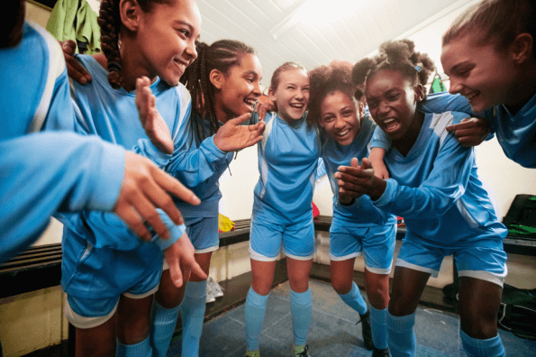 This ad campaign seeks to empower women in soccer