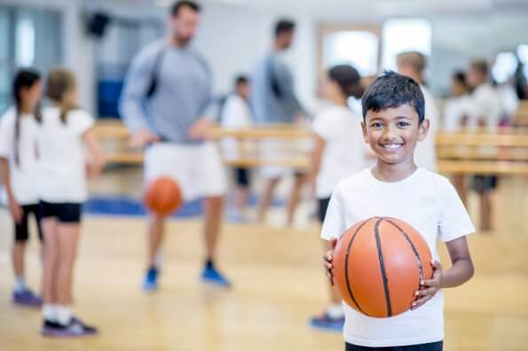 Jr. NBA introduces kids to basketball