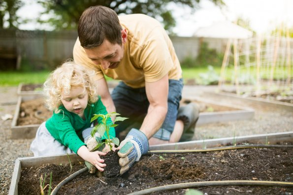Four ways to keep active as a family on Father's Day