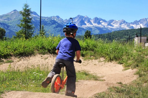 Tips to help timid riders brave the bike park (plus six awesome Canadian pump tracks for all-ages fun)
