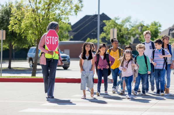 Walk or bike to school for happier, healthier kids