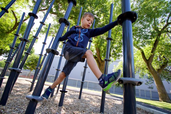 How playgrounds helped my special-needs son develop physical literacy